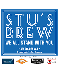 Stu's Brew #StayStrongStu