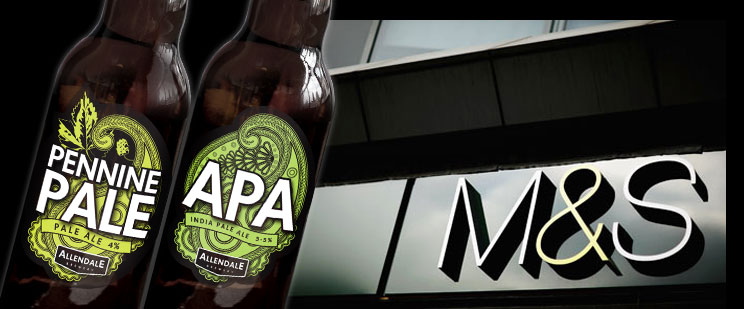 APA and Pennine Pale now sold at Marks & Spencer
