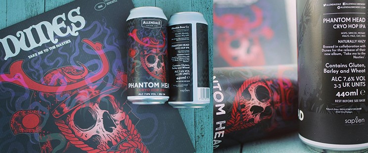 Phantom Head – our latest beer with a musical twist