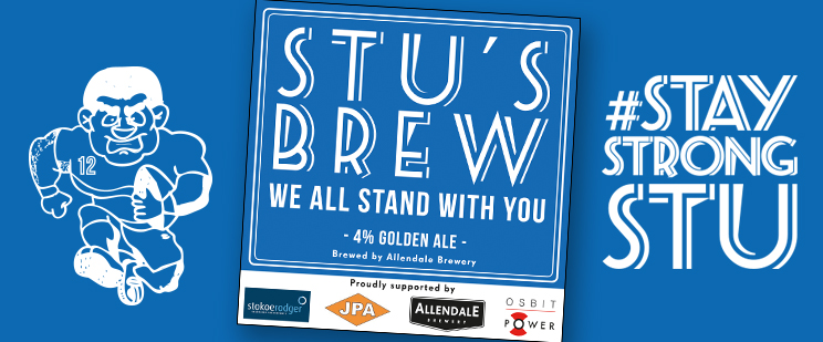 A Brew for Stu - #StayStrongStu
