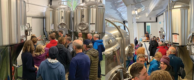 Brewery Open Day Success