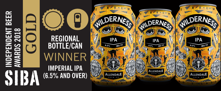 Wilderness Wins SIBA Gold